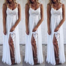 Fashion, Lace, long dress, Evening Dress