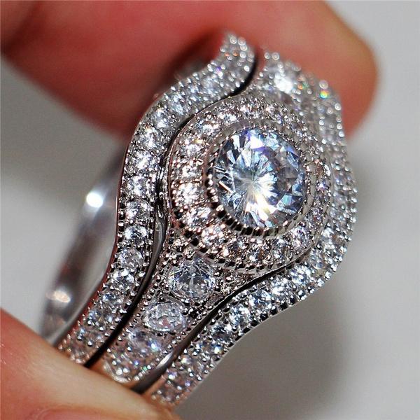 DIAMOND, wedding ring, Gifts, ringset
