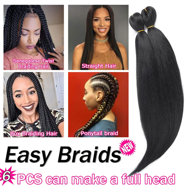 Magnificent 6 Pieces Lot 20Inch Pre Stretched Braiding Hair Professional Long Schematic Wiring Diagrams Amerangerunnerswayorg