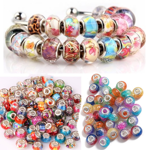 acrylicbead, Jewelry, Pandora Beads, Jewelry Making