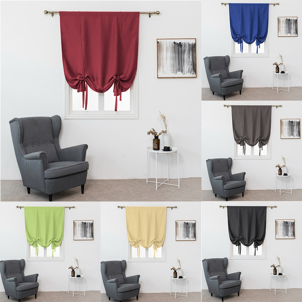 Thermal Insulated Blackout Curtain For Small Window Valance Balloon Blind Pinkbanana Wish,Light Chocolate Brown Hair Color With Caramel Highlights