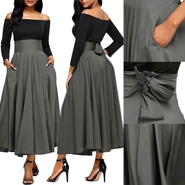 plussizeskirt, long skirt, Fashion, Umbrella