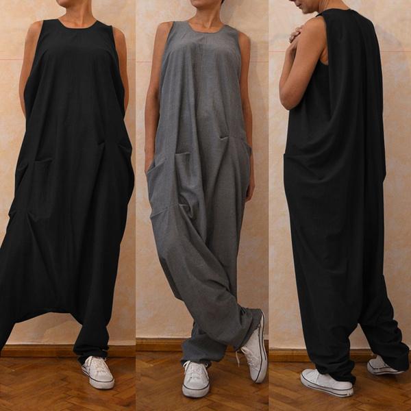 Women Rompers, sleevelessjumpsuit, pantsforwomen, Overalls