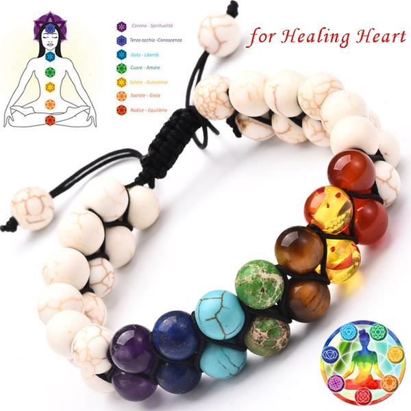 Natural Energy Healing Stone Bracelet