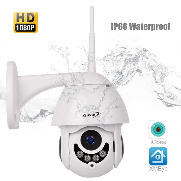 2019 New IP Camera WiFi 2MP 1080P Wireless Speed Dome CCTV IR Onvif Camera  Outdoor Security Surveillance IpCam Camara Exterior