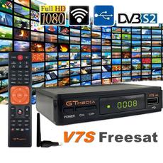 Receptor Satelital GTMedia V7S FREESAT FULL HD 1080p dvb-s2 RT5370