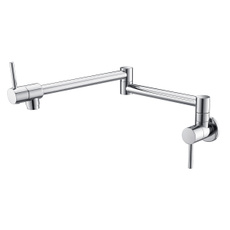 Foldable, Wall Mount, nickel, Pot