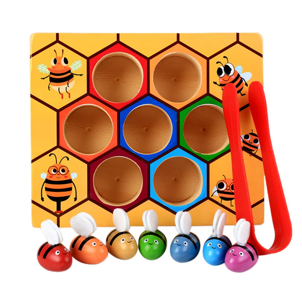 pickingtoy, Toddler, Colorful, Wooden