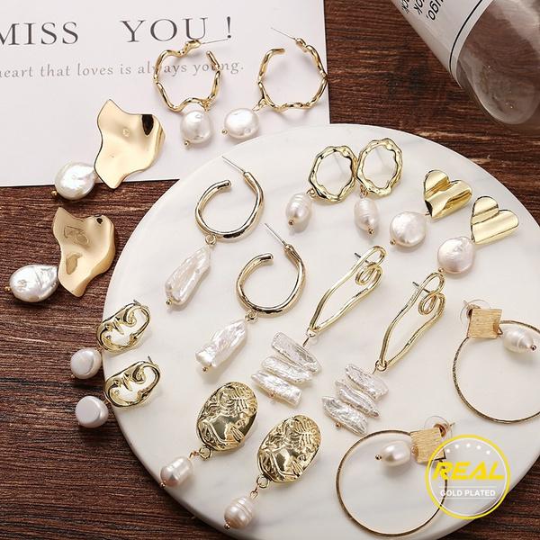 Luxury, party, Dangle Earring, Pearl Earrings