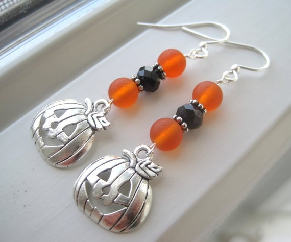 handmadehandcrafted, Jewelry, Crystal, Halloween