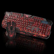 keyboardandmouseset, led, usb, ledkeyboard