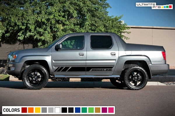 Honda Ridgeline Off Road >> New Side Stripes Decal Sticker For Honda Ridgeline Sport 4x4 Off Road Graphic