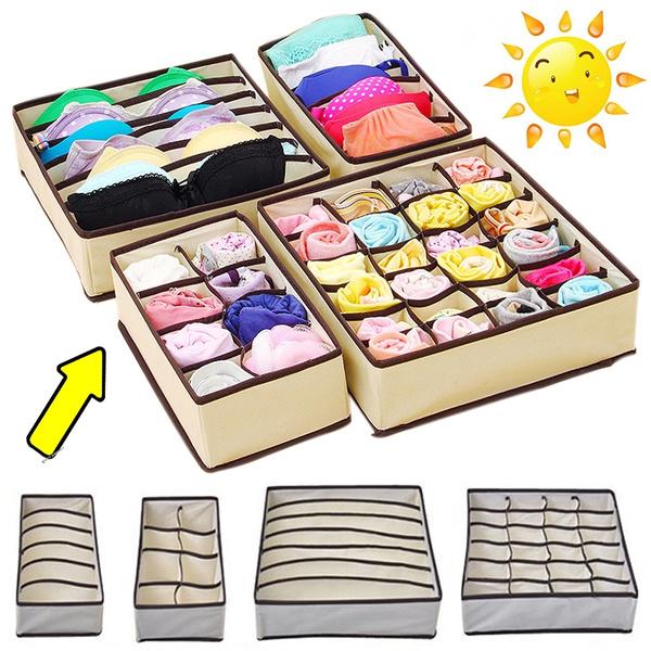 Box, Storage Box, Underwear, Fashion