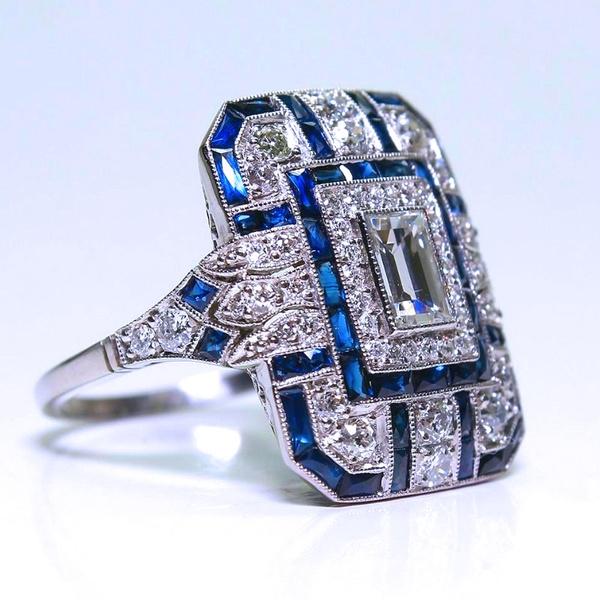 nonstandardgemstone, uniqueethnicstyle, Fashion, wedding ring