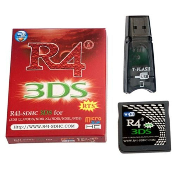 R4 SDHC Micro SD Memory Adapter Card F DS 3DS 2Ds Ndsi Ndsl Nds HS