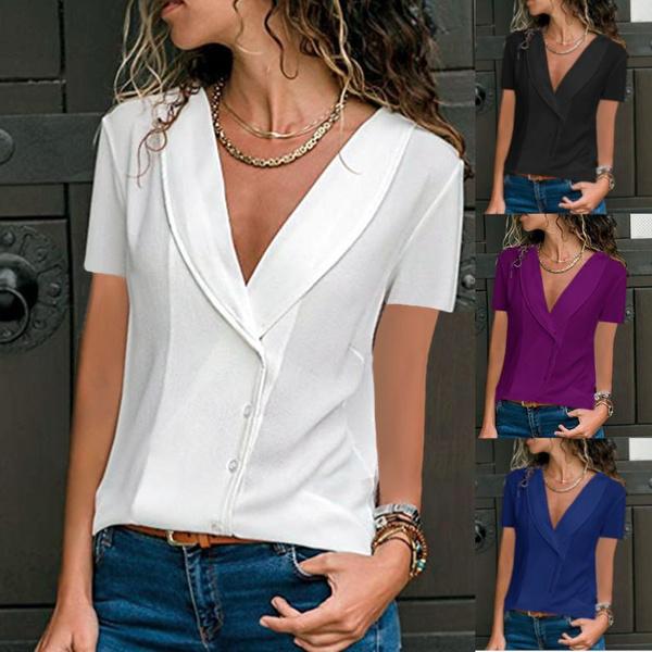 blouse, Summer, topsamptshirt, tunic