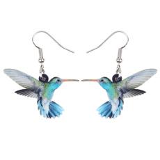 kids, Fashion, hummingbirdcharm, earringsforgirl