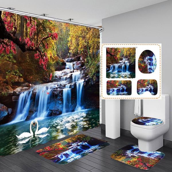 Bath, bathroomaccessarie, Rugs & Carpets, Flowers