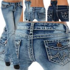pencil, Plus Size, pants, Women jeans