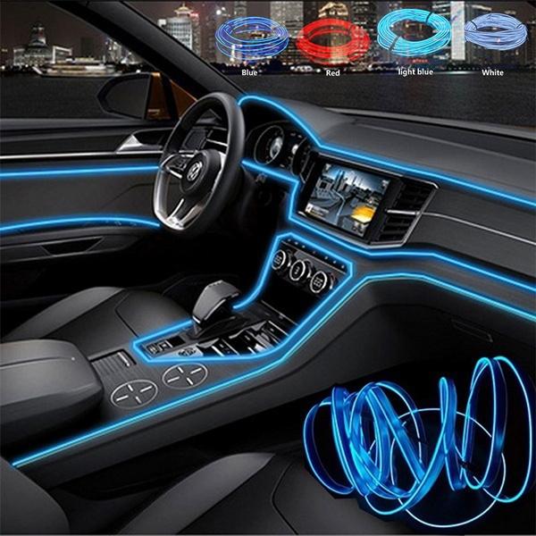 5m 12v Car Led Cold Light Flexible Neon