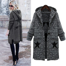 Fashion, womenslongcoat, Winter, Sleeve