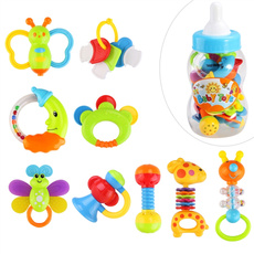 babyteethertoy, Bottle, Colorful, babyrattleteether
