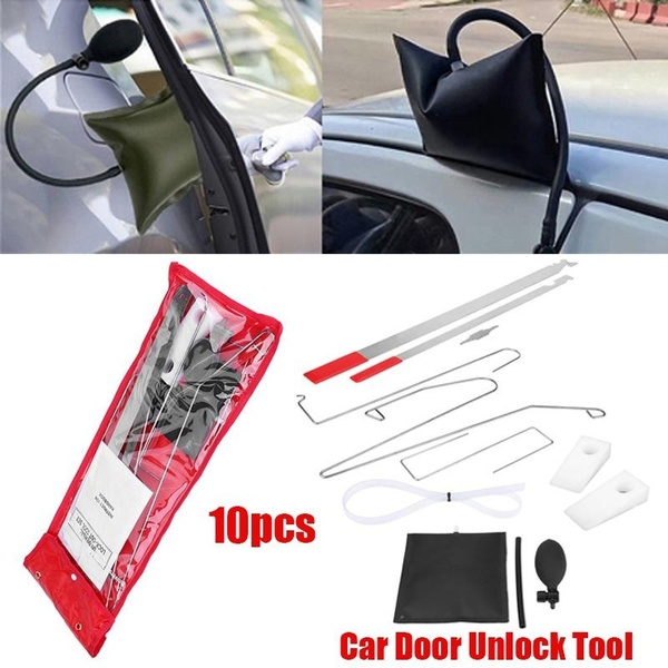 10 Pcs Universal Car Auto Door Lock Out Key Lost Emergency Opening Unlock Tool