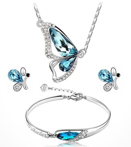 butterfly, earringbracelet, Fashion, Jewelry
