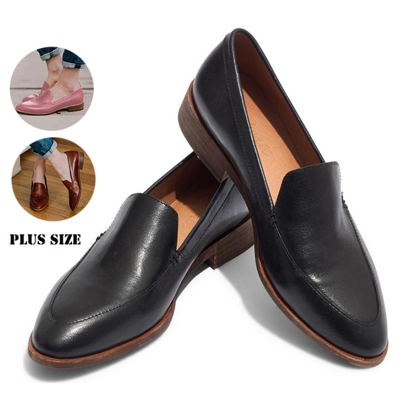 Dress Shoes Women Low Heel Comfortable