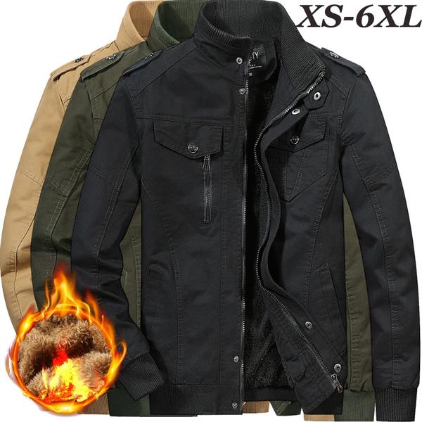 Military Thick Men Coats Warm Jacket Fashion Army Mens And Winter Outdoors Jackets Fleece Plus Velvet Winterjacke Herren Tops 3 shQdCtrx