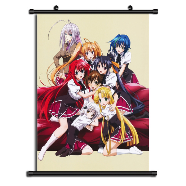 Highschool DxD HD Print Anime Wall Poster Scroll Room Decor