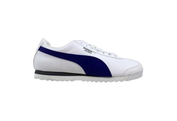 Puma Roma Basic White/Clematis Blue