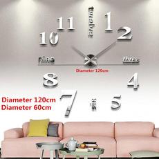 Decor, Wall Art, Home Decor, 3dwallclock