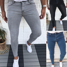 men's jeans, Slim Fit, manlongjean, Men