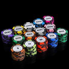 boardamptraditionalgame, Poker, Dice, Chips