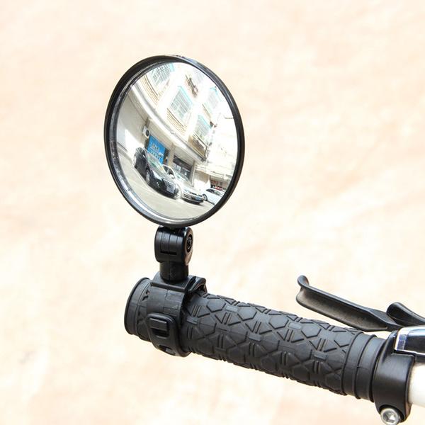Adjustable Bicycle Mirror Bike Rearview Motorcycle Looking Glass Handlebar