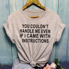 shirtsforwomen, Funny, Fashion, Cotton Shirt
