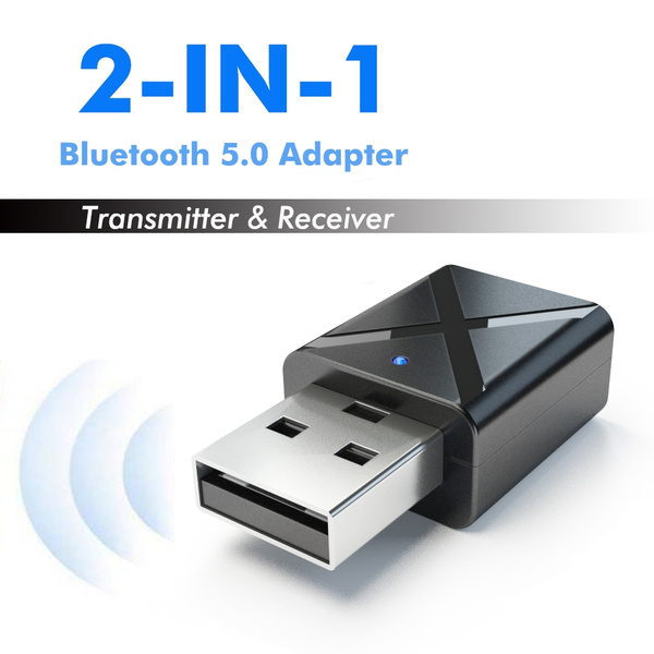 2 in1 Wireless Bluetooth Transmitter Receiver Adapter AD2P Home TV Stereo Audio