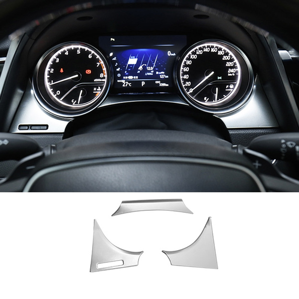 Toyota Camry Accessories >> Dashboard Instrument Panel Trim Bezel Molding Garnish For 2018 2019 Toyota Camry Accessories Car Styling
