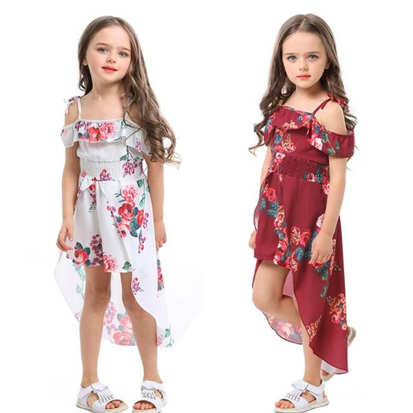 summer cool short dress for girls