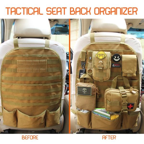 Multipocket Tactical Waterproof Diy Car Seat Back Organizer Pocket