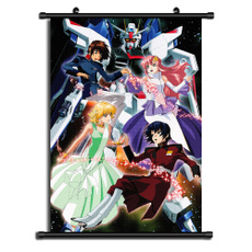 Mobile Suit Gundam SEED HD Print Anime Wall Poster Scroll Room Decor
