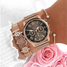 Elegant, genevawatch, Fashion, meshbeltwatch