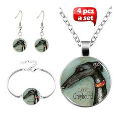 glasscabochonjewelry, Jewelry, Stud Earring, Glass