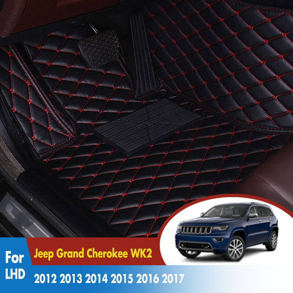 Car Floor Mats For Jeep Grand Cherokee Wk2 2012 2017 Leather Rugs