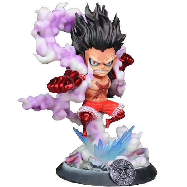 Anime One Piece Monkey D Luffy Gk Gear Fourth Luffy Action Figure Snakeman Collectible Model Toy