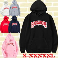 hooded, Winter, letter print, Women Hoodie
