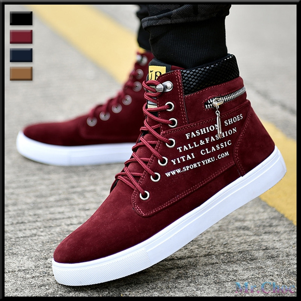Men\u0027s Sneakers Comfortable Casual Shoes Canvas Boots Fashion Shoes Winter