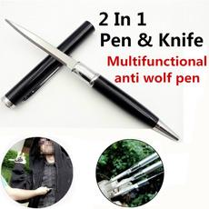 pencil, antiwolfweapon, pencilknife, Aluminum