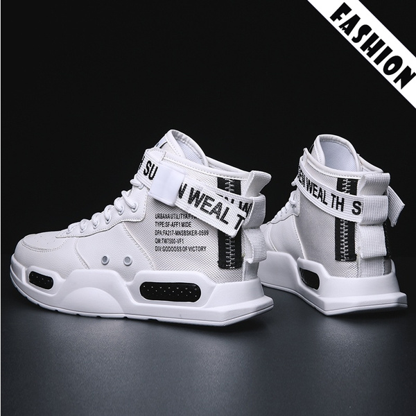 New Fashion Men High Top Sneaker Sport Casual Outdoor Athletic Running Shoes